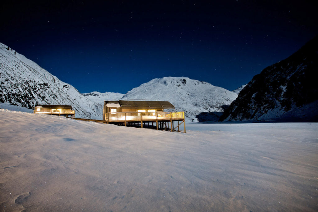 Minaret Station, architectural photography, remote location, mountain photography