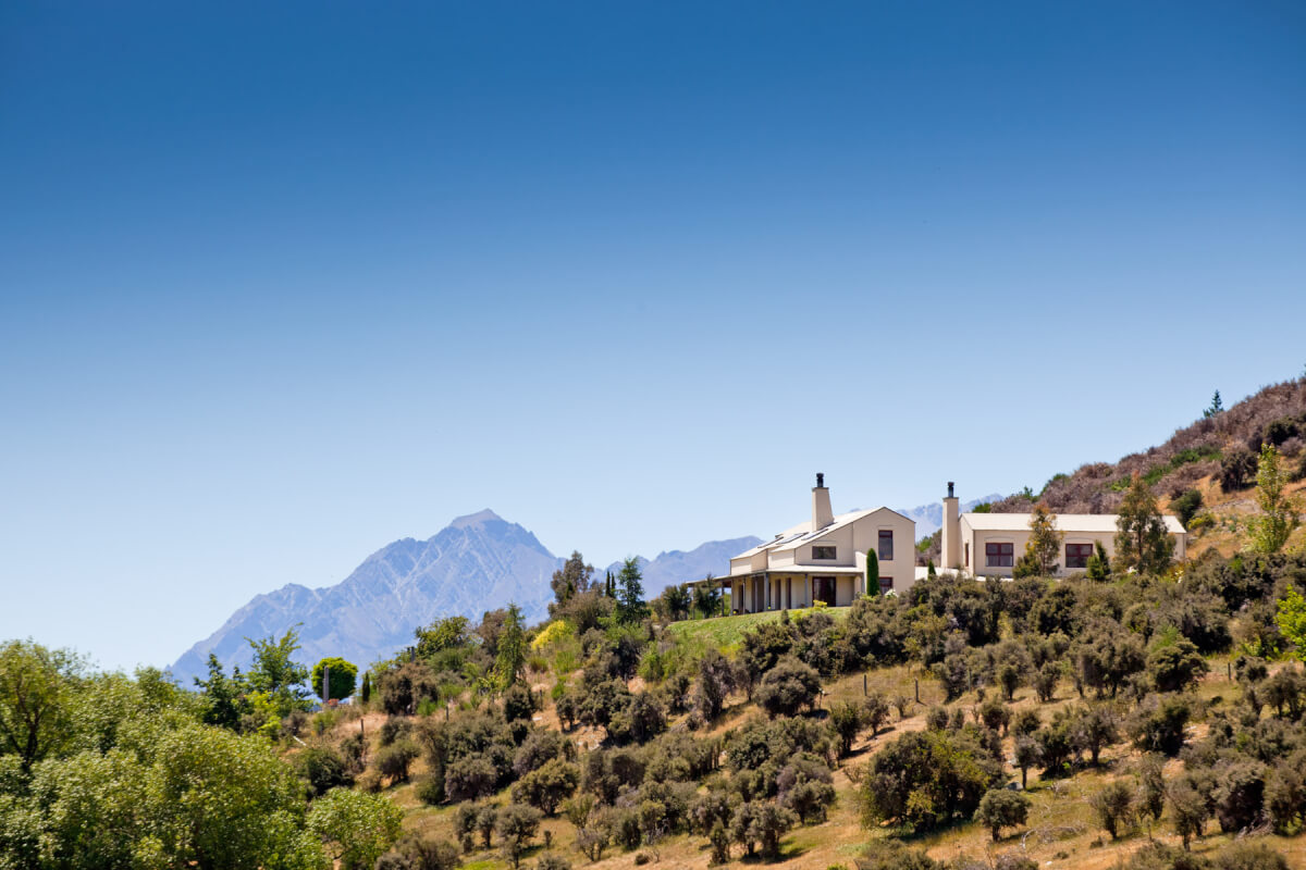commercial lodge photography, architectural photography Queenstown