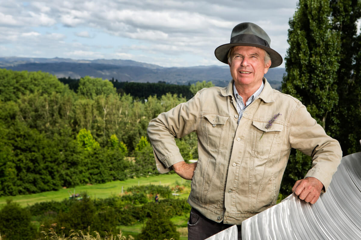 Sam Neill Celebrity photographer queenstown