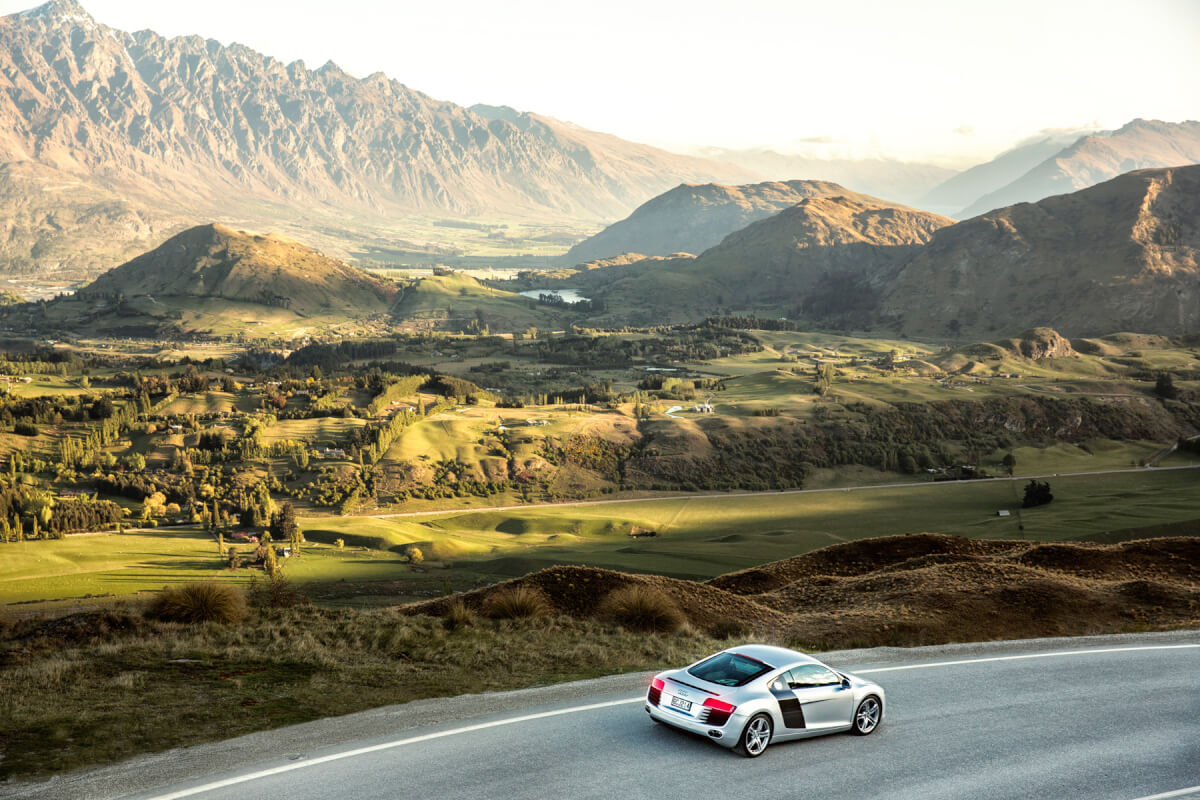 Car Photography, Audi R8, Car photographer Queenstown