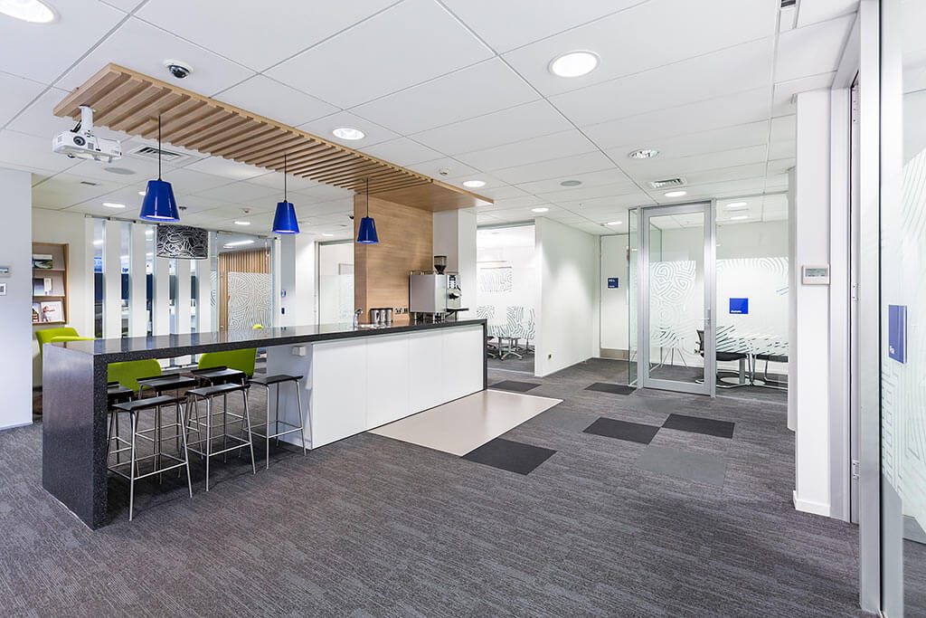 Commercial photography of BNZ bank Queenstown, RCP Queenstown