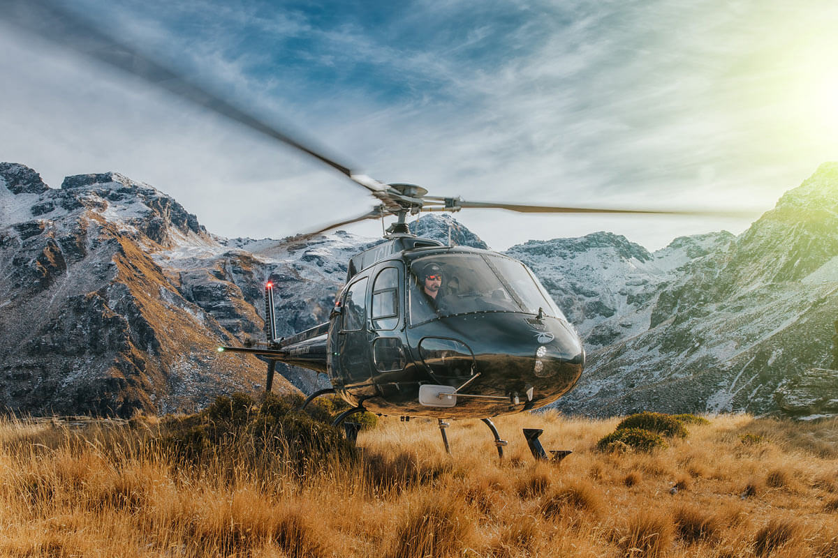 Over The Top helicopters Queenstown
